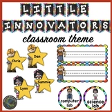 Classroom Theme Ideas:  Back to School with Little Innovators