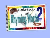 Rhyming Words2 LITTLE INTERACTIVE BOOK