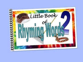 Rhyming Words2 LITTLE INTERACTIVE BOOK