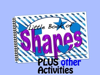 Shapes  LITTLE INTERACTIVE BOOK plus activities