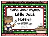 Mother Goose Rhymes: Little Jack Horner