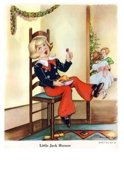 Little Jack Horner Handout