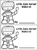 Little Jack Horner Make 20 Booklet