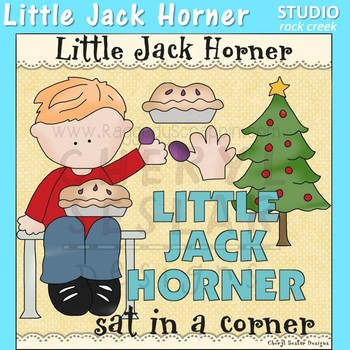 Little Jack Horner Nursery Rhyme Clip Art C Seslar
