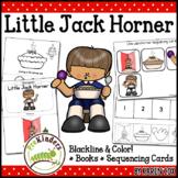 Little Jack Horner Rhyme: Books & Sequencing Cards