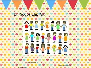 Little Kiddos Clip Art and Frames