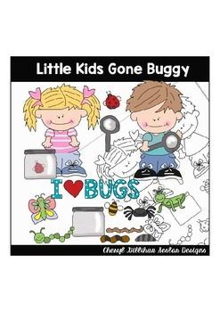 Little Kids Gone Buggy Cliaprt Collection