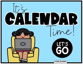 Little Kinder Digital Calendar