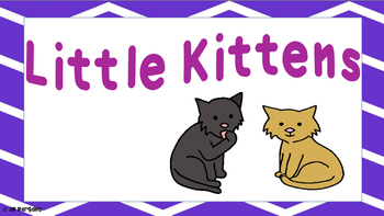 Little Kittens to be used with Words Their Way Class Library