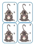 Little Kitty Capital to Lowercase Clip Cards