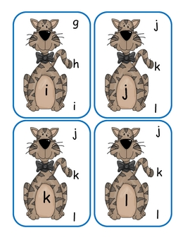Little Kitty Lower to Lower Clip Cards