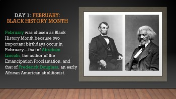Little Known Black History Facts Daily Posters