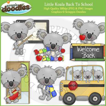Little Koala Back To School