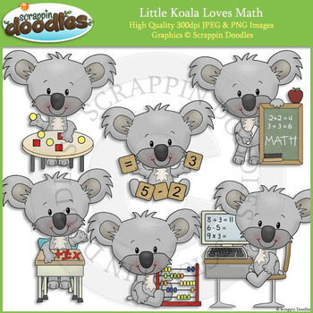 Little Koala Loves Math