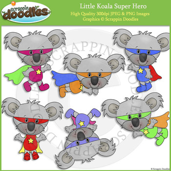Little Koala Super Hero