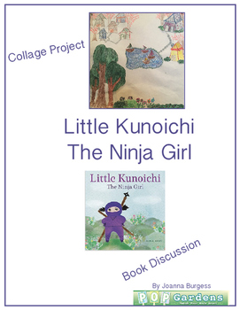 Little Kunoichi The Ninja Girl Collage Project and Book Discussion
