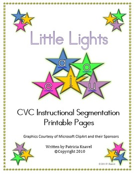 Little Lights Segmentation Instructional Pages