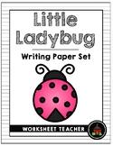Little Ladybug Writing Paper Set