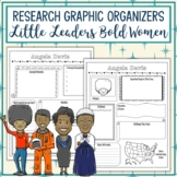 Little Leaders Bold Women in Black History Biography Graphic Organizers Bundle