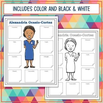 Hispanic Heritage and Latino Leaders Sensory Figures
