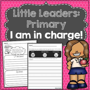 Little Leaders:Primary) I Am in Charge! (I can have self-control)