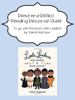 Little Leaders Read and Reflect-FREEBIE