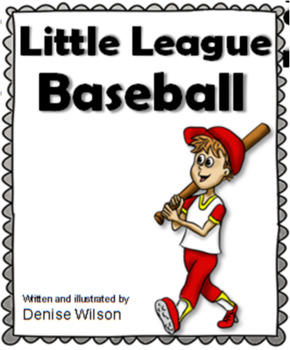 Little League Baseball - FREE Social Story
