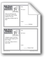 Little League (Grade 2 Daily Word Problems-Week 33)