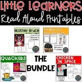 Little Learners Read Aloud Printables The Bundle