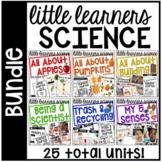 Little Learners Science BUNDLE (for preschool, pre-k, and kinder)