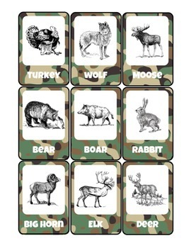 Little Learning Labs - 5 Go Fish Games - Safari Fruits Veggies Wildlife Oceans