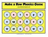 Little Learning Labs - Connect 4 style phonics spelling activity