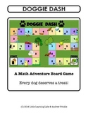 Little Learning Labs - Doggie Dash - Board Game - Math addition subtraction