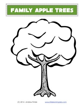 Little Learning Labs - Family Apple Trees - Family Learning Project