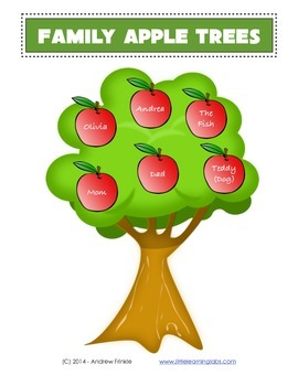 Little Learning Labs - Family Apple Trees - Family Learnin