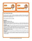 Little Learning Labs - Go Safari Card Game - Remix of Classic Go Fish Card Game