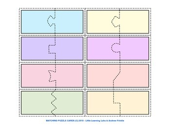 Little Learning Labs - Matching Puzzle Cards