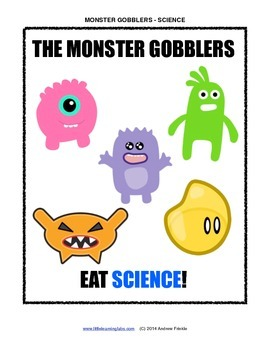 Little Learning Labs - Monster Gobblers - Science Topics Primary Grades Sorting