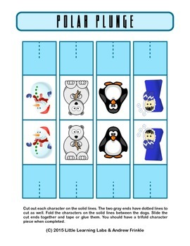Little Learning Labs - Polar Plunge Busters - Strategy Board Game