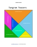 Little Learning Labs - Tangram Teasers - 35 tangram shapes