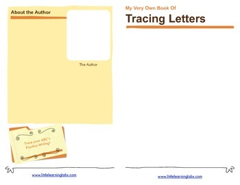 Little Learning Labs Tracing Letters Booklet