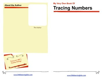 Little Learning Labs Tracing Numbers Booklet