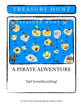 Little Learning Labs - Treasure Hunt - Math Board Game
