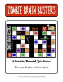Little Learning Labs - Zombie Brain Busters - Board Game - Quiz Game