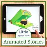 Little Leprechaun Animated Stories for AAC Core Vocabulary