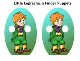 Little  Leprechaun FREE Finger Puppet