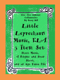 Little Leprechaun Music, ELA 3 Item Set