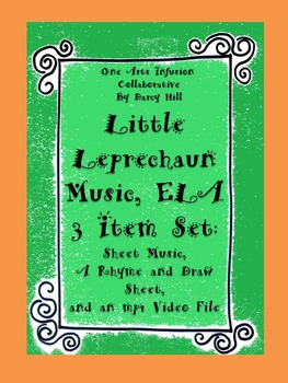 Little Leprechaun Music, ELA 3 Item Set