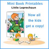 Little Leprechaun Printable Mini Book