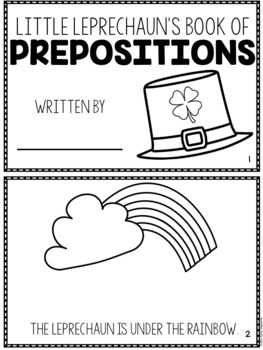 Little Leprechaun's Book of Prepositions